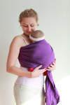 Echarpe de portage coloris Violet