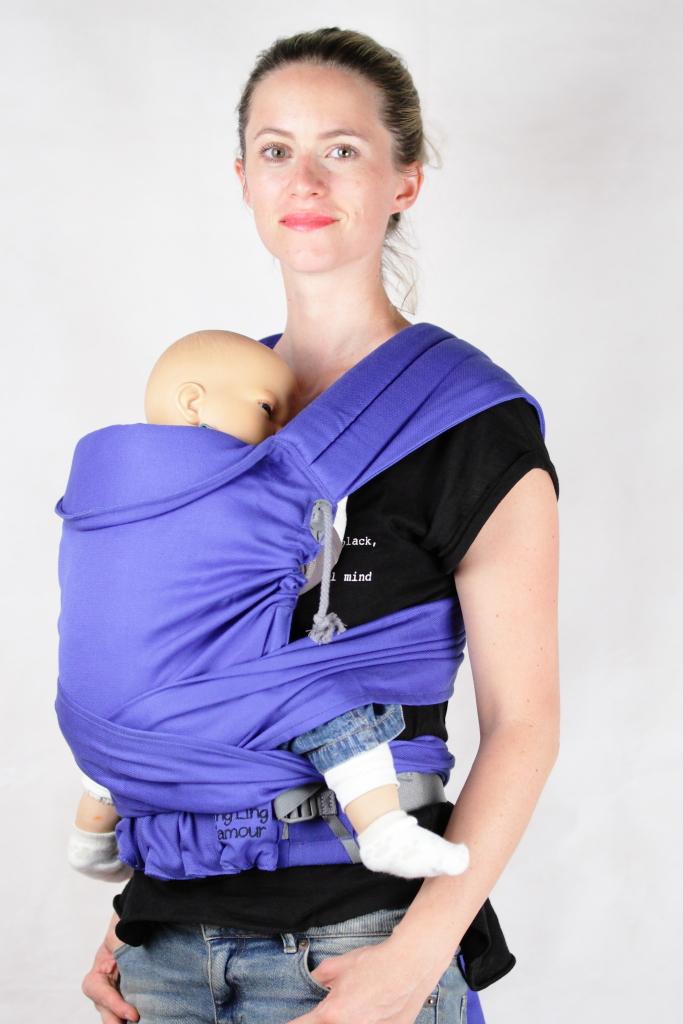 Porte-bébé hybride M-Taï   Ling Ling d amour bfafe453409