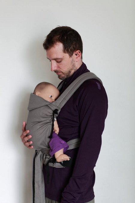 mei-tai bicolore gris porte-bebe bicolore prune. A baby carrier which  combines tradition and inovation in order to comply with your modern  parents needs. 1abd9259b8f