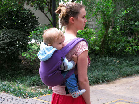 Porte-bébé hybride M-Taï   Ling Ling d amour 821e9ad655c