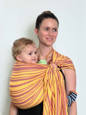 Organic cotton baby carriers  baby wrap and baby sling   LING LING D ... 65ee62b8384