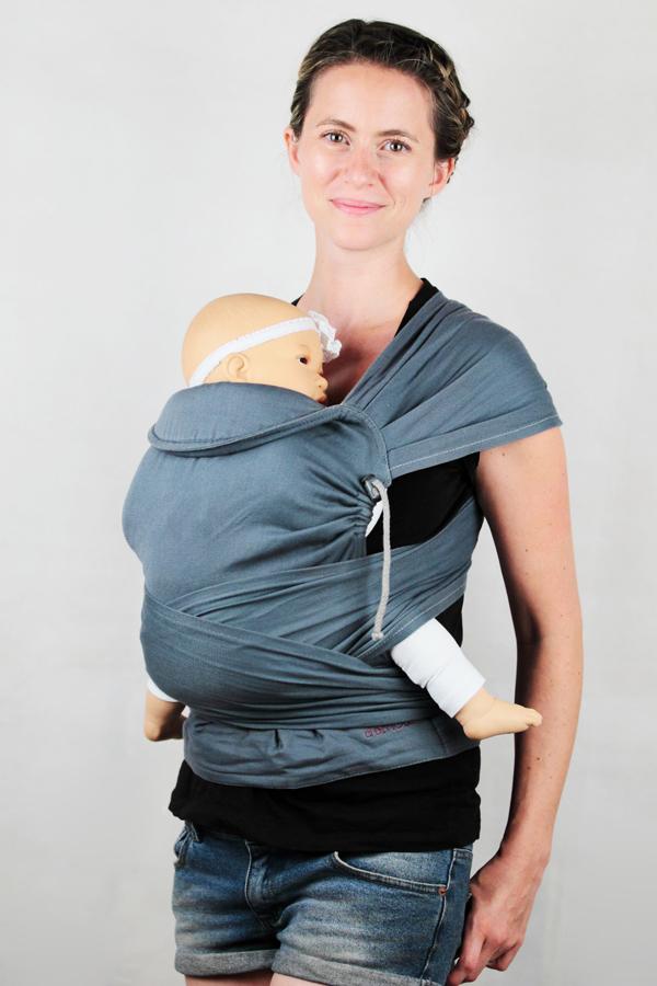 Porte-bébé physiologique   écharpe de portage, sling, Mid-Taï, M-Taï,  préformé P4 - LING LING D AMOUR 85a9ff8d8ea